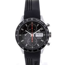 TAG Heuer Carrera Day Date Automatic Chronograph 41 Black Dial...