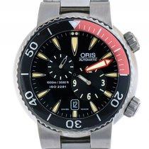 Oris Meistertaucher Regulateur Titan Automatik Armband Titan...