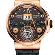 Ulysse Nardin Marine Grand Deck 18K Rose Gold Men's Watch