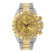 Rolex DAYTONA Steel & 18K Yellow Gold Champagne Dial