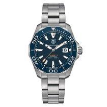 豪雅 (TAG Heuer) Aquaracer Automatic Navy Blue Dial Men's Watch