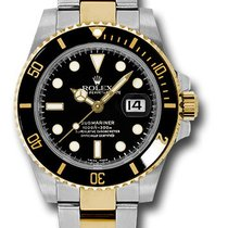 Rolex 116613 Submariner 18K Yellow Gold&Stainless Steel&am...