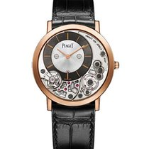 Piaget G0A39110 Altiplano Manual in Rose Gold - on Black...