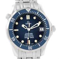 Omega Seamaster Midsize 36mm Blue Wave Dial Automatic Watch...