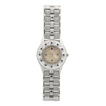 Mauboussin Womens Quartz Watch 18k White Gold Mop Dial Diamond...