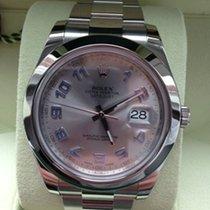 Rolex Datejust II 41 mm Edelstahl Ref. 116300 Rhodium Arabisch