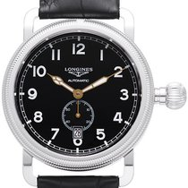 Longines Heritage Avigation Oversize Crown