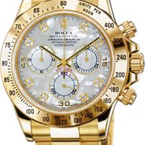 Rolex Daytona Cosmograph 40mm Yellow Gold 116528 GoldCrystals