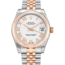 Rolex Datejust 31mm Steel & Everose Gold White Roman