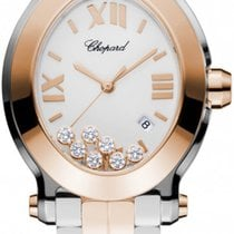 ショパール (Chopard) Happy Sport Oval Quartz 278546-6003