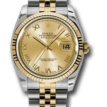 Rolex Unworn 116233 Mens 2-Tone DATEJUST with Jubilee Bracelet...