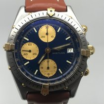 Breitling Chronomat 40MM STEEL GOLD BLUE DIAL