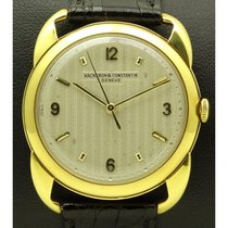 Vacheron Constantin | Vintage 18 Kt Yellow Gold, Special Lugs,...