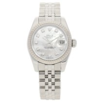 Rolex Datejust 179174 - Ladies Watch - Diamond Dial - 2005