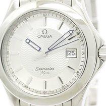 Omega Polished Omega Seamaster 120m Stainless Steel Quartz...