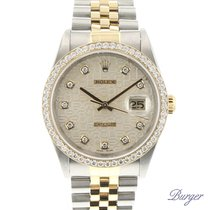 Rolex Datejust Gold/Steel Jubilee Diamond Dial & Bezel