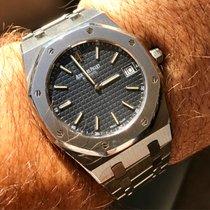 Audemars Piguet Royal Oak Ultra thin Blue dial Ref 15202ST...