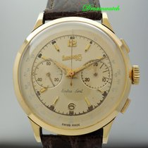 Eberhard & Co. Vintage Eberhard & Co Chronograph 18k Gold
