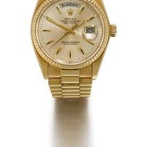Rolex | A Yellow Gold Automatic Centre Seconds Wristwatch With...