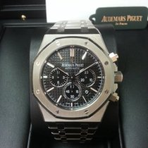 Audemars Piguet 26320ST Royal Oak Automatic 41mm Black Dial...