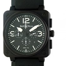 Bell & Ross Aviation BR 01-94 Carbon Stahl Kautschuk...