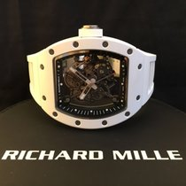 理查德•米勒 (Richard Mille) Bubba Watson WHITE CERAMIC RM055 RM55
