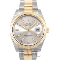 Rolex Datejust 41 Silver/18k gold 41mm - 126333
