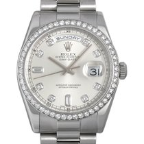롤렉스 (Rolex) Day-date bezel diamond