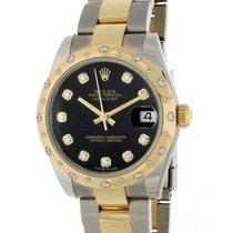Rolex Datejust 31 178343 Steel, Yellow Gold, Diamonds, 31mm