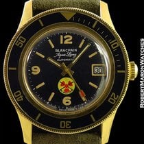 블랑팡 (Blancpain) Aqua Lung Automatic Military Us Navy Issued...