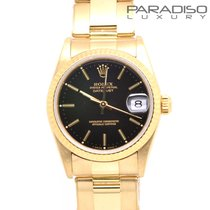 Rolex Datejust 31mm  18k Gold oro Full set like new Full set