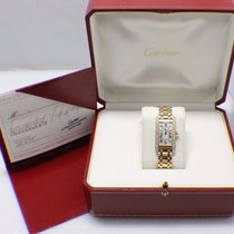 Cartier 1710 Tank Americaine 18K Yellow Gold Original Diamond...