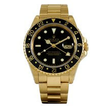 Rolex GMT-Master II Yellow Gold 16718