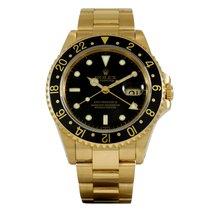 ロレックス (Rolex) GMT-Master II Yellow Gold 16718