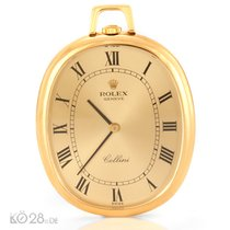 Rolex Cellini 3729 -11 Taschenuhr Pocket Watch Gold ca. 1973