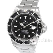 """롤렉스 (Rolex) Rolex Submariner Date Stainless Steel 40MM """"U..."""
