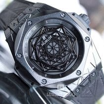 Hublot Big Bang Sang Bleu  Black Ceramic Limited Edition