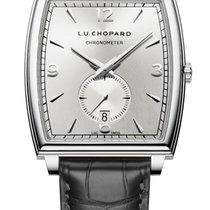 Chopard L.U.C Tonneau 18K White Gold Men's Watch