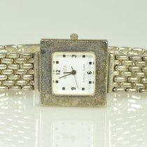 Ladies Ecclissi Sterling Silver Swiss Quartz White Dial Watch