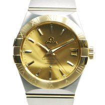 Omega Constellation Gold And Steel Gold Automatic 123.20.38.21...