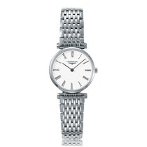 Longines La Grande Classique Stainless Steel Quartz Ladies...