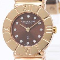 Charriol St-tropez Pink Gold Plated Quartz Ladies Watch 028/2...