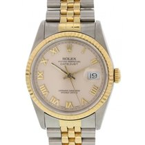 Rolex Oyster Perpetual Datejust 16233 18K YG / SS