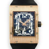 Richard Mille Rose Gold Extra-Flat Skeleton Watch Ref. RM16