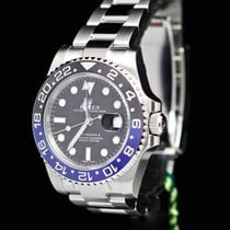 Rolex GMT Master II  BATMAN Full Set UNWORN in Seals 03-2017 NL