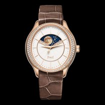 Piaget Limelight 18k Rose Gold With Diamonds White Automatic