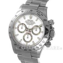 """ロレックス (Rolex) Cosmograph Daytona White Dial Steel 40MM """"V..."""
