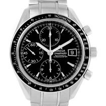 Omega Speedmaster Stainless Steel Automatic Date Mens Watch...