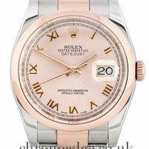Rolex Datejust 36 18ct Rose Gold & Steel 116201