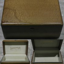 Eberhard & Co. vintage wooden watch box no pilow good...